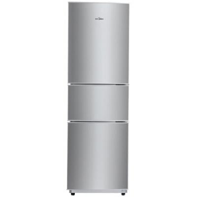 万博体育manbet网页(Midea)206升 时尚三门三温冰箱 日耗电0.49度 HIPS环保内胆 闪白银 BCD-206TM(E)
