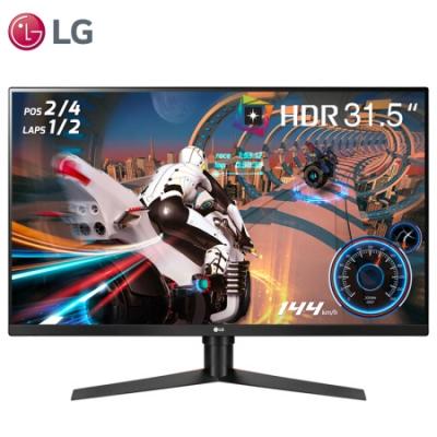 LG 32GK850F 31.5英寸 HDR400 2K超高清DCI-P3 95% 144hz刷新率 FreeSync2 升降旋转 电竞显示器