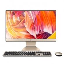 华硕(ASUS) 一体机电脑全套 V221/V4000家用办公学习高清电脑多功能 21.5英寸IPS 星耀黑 Intel 64位/4G/256G固态