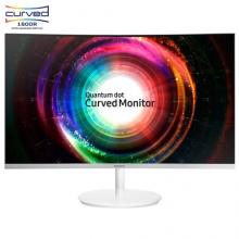 三星(SAMSUNG)27英寸2K高分曲面 1800R曲率量子点技术 电脑显示器 C27H711QEC (HDMI/DP双接口)